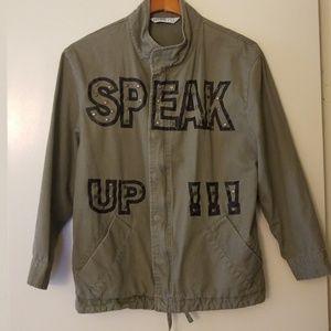 Zara Oversized Utility Jacket Size XS
